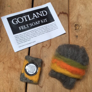 woolshed kit soap felted Felt