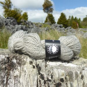 aran grey canaan woolshed New-Zealand yarn gotland Handspun